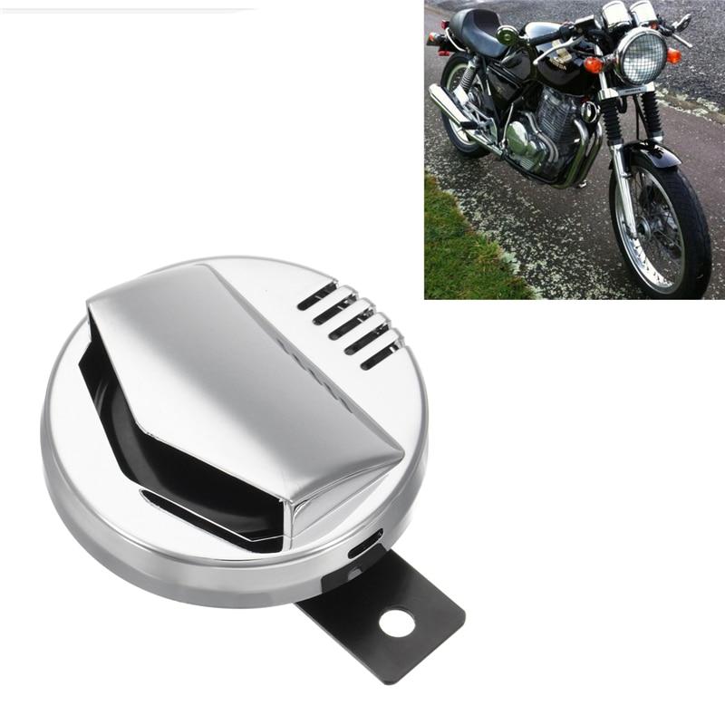 Motorcycle Horn-12V 2A 110dB Motorcycle Vintage Electric Horn Loudspeaker Super Loud Motorbike Accessory