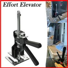 Labor-saving braço porta placa levantador gabinete jack gesso folha reparação anti deslizamento carpintaria máquinas ferramentas de madeira braçadeira