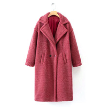 Faux Fur Long Coat Winter Women Thick Warm Fur Casual Turn-down Collar Slim Solid Parkas Furry Korean Style Teddy Coat Downy chic downy faux fur winter pashmina for women