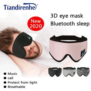 Image 5 - 2020ผู้ผลิตไร้สายบลูทูธV5.0 CEชุดหูฟังเพลงSleep Artifact Breathable Sleep Eye MaskหูฟังDropshipping