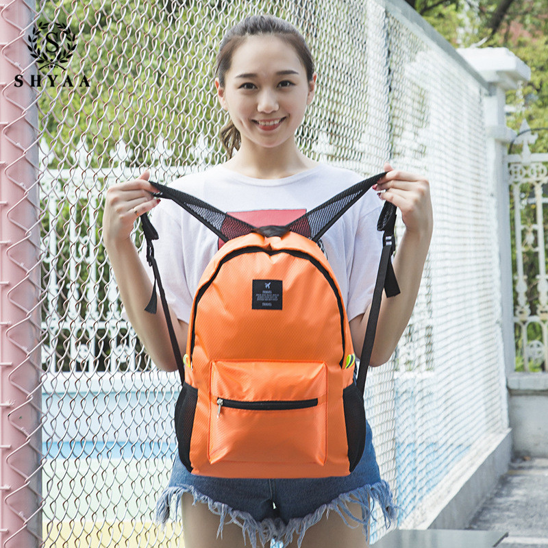 SHYAA New Products Factory Wholesale Korean Version of The Outdoor Sports Backpack Travel Bag Travel Mummy Bag School Bag