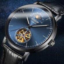 AESOP Automatic Mechanical Watch Men Luxury Brand Bussiness Waterproof Wristwatc
