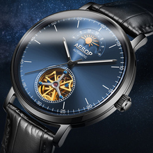 AESOP Automatic Mechanical Watch Men Luxury Brand Bussiness