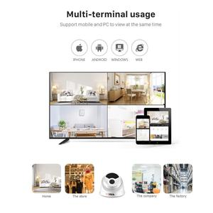 Image 5 - BESDER H.265 1080P 3MP 5MP Security Camera Indoor Dome IP Camera Audio Built in Microphone 48V PoE P2P ONVIF Email Motion Detect