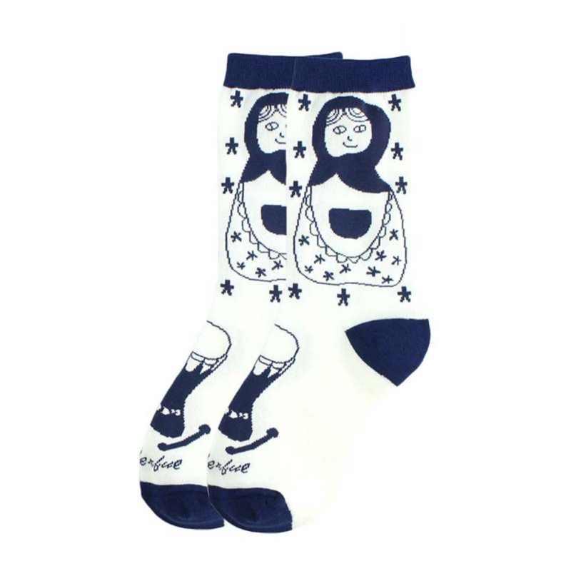 אופנה חמוד קריקטורה בובת סדרת נשים של גרבי קפיצות סוכר Creative גבירותיי גברים של זוג כותנה גרביים
