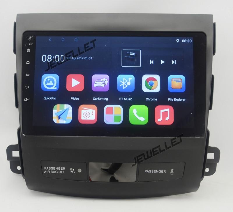 10.1 Quad Core 2.5D IPS Screen Android 10 Car GPS Radio Navigation For Mitsubishi Outlander Citroen C-Crosser Peugeot 4007