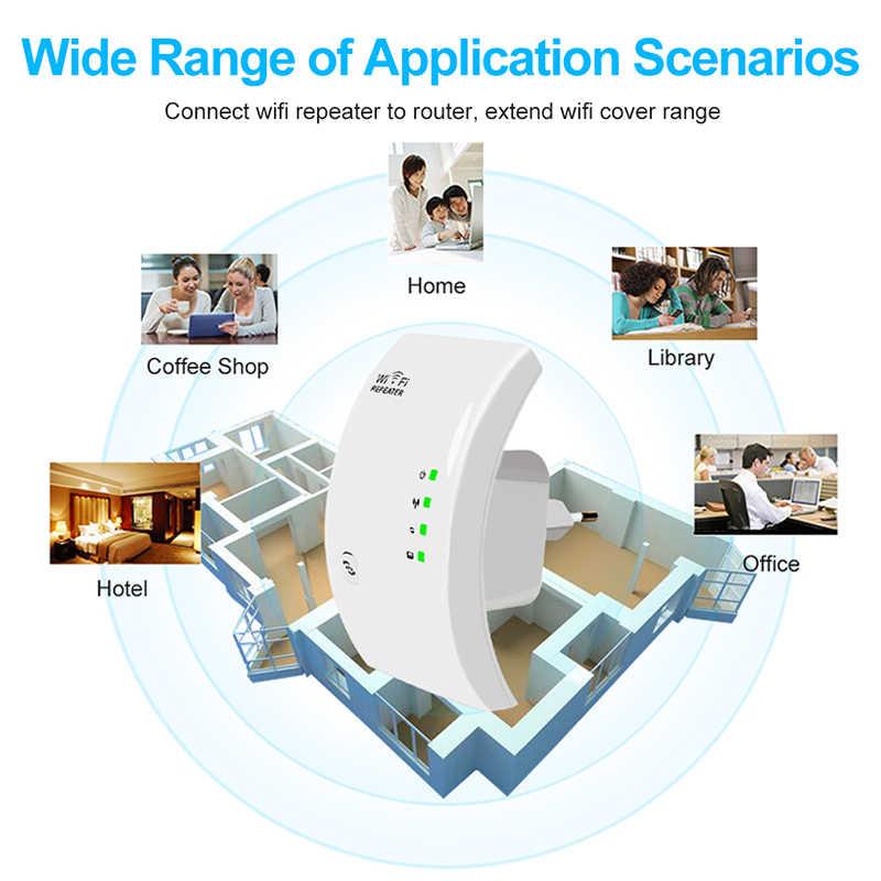 واي فاي مكرر موسع واي فاي 300Mbps معزز Wi-Fi اللاسلكية واي فاي مكبر صوت أحادي المدى طويل المدى واي فاي مكرر 802.11N نقطة الوصول