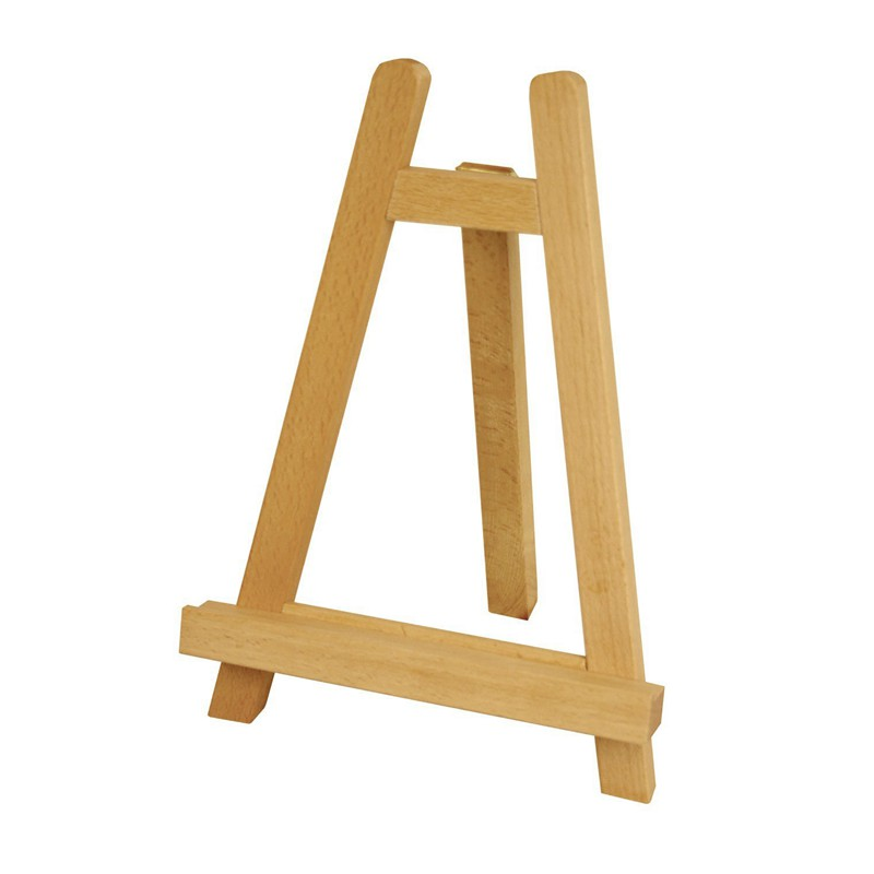 Small 11 inch Tabletop Wood Display Artist A-Frame Easel
