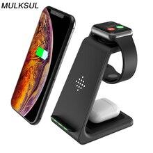 2021 Sạc Nhanh Cho Iphone Không Dây Sạc Dành Cho Đồng Hồ Apple Đế Sạc Không Dây Cho iPhone 12 11 Pro XS 8 HUAWEI D4T0