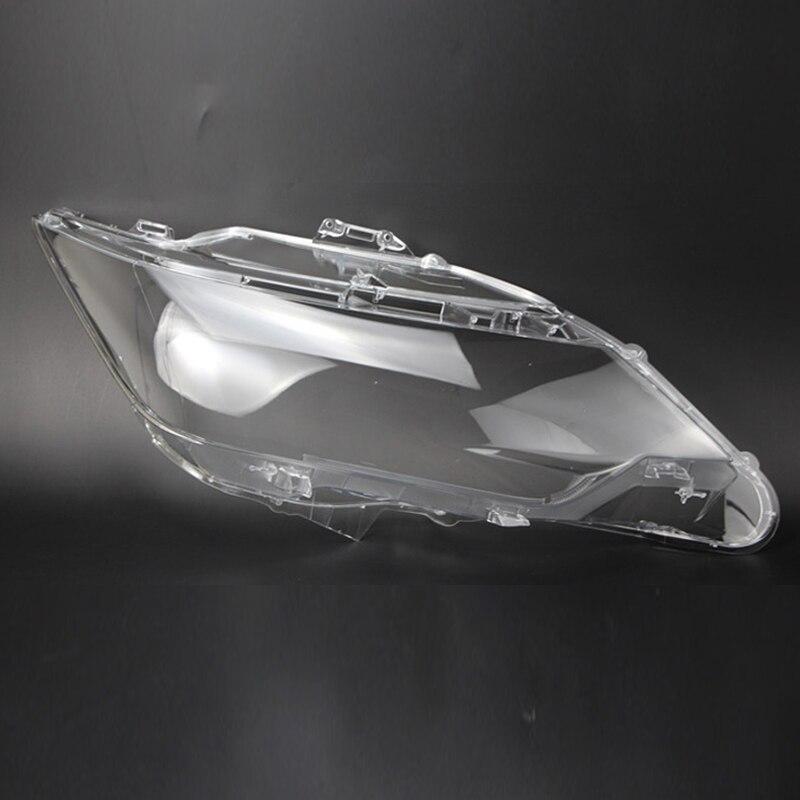 도요타 캠리 렌즈 전등 갓 렌즈 보호 플라스틱 헤드 라이트 커버 렌즈 투명한 유리 자동차 후드 랩 2015-2017 용 2 pcs