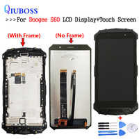For 5.2 inch Doogee S60 S60 Lite LCD Display+Touch Screen With Frame 100% Tested Screen Digitizer Assembly Replacement