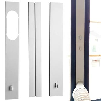 New 2/3Pcs Adjustable Well-sealed Window Slide Kit Plate Adapter For Portable Air Conditioner Easy Installation