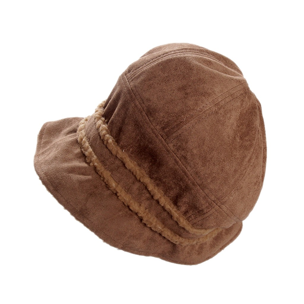 SAGACE Ladies'women Light Wind  Knit Hats Women's Thick Warm Fisherman Hat Harajuku Girl Style Retro Style Autumn And Winter