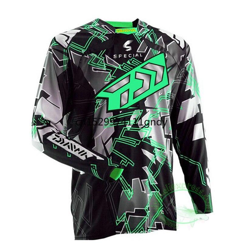 2020 DAIWA Daiwa Fishing Shirt Quick Dry Cycling Hiking Jersey Soft Fishing Clothing Anti-UV Long Sleeve Fishing Jersey