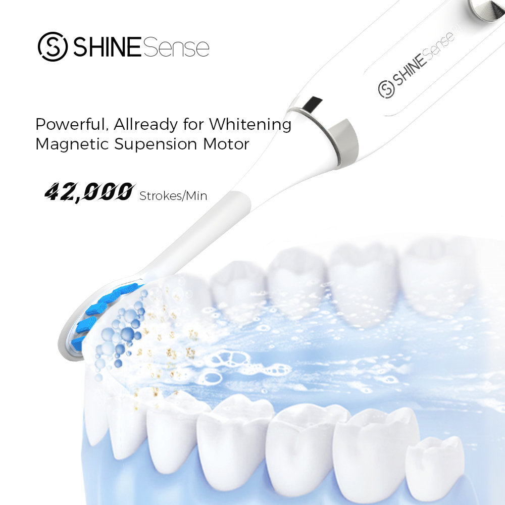 ShineSense STB200 Electric Toothbrush Sonic Tooth Brush Rechargeable Ultrasonic Waterproof Heads Trave Box for xiaomi mijia