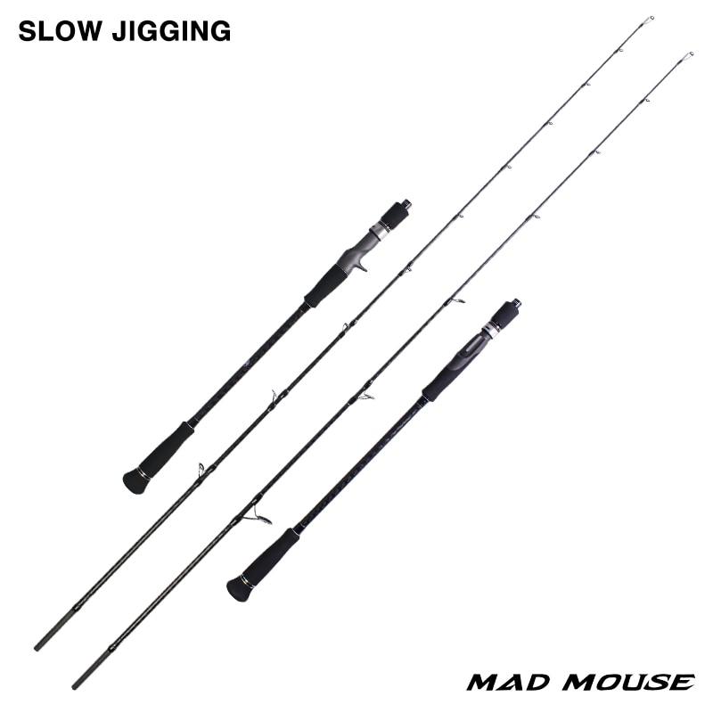 MADMOUSE Japan Full Slow Jigging Rod  2