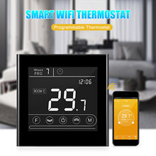 Smart Wifi Thermostaat Programmeerbare Gas Boiler Thermostaat Temperatuur Controller Led Display Touchscreen Backlight Afstandsbediening(China)