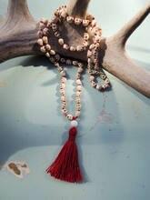 Oaiite крошечные skulss шарик necklace108 мала натуральный howlite