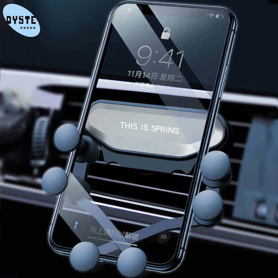 Smartphone Gravity Automatic Car Phone Holder Vent Mobile Car Holder For Xiaomi Mi9 Mi8 Mi 9 8 A2 Lite Redmi Note 9 8 7 K20 Pro