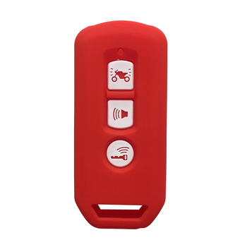 Key Case for Honda Forza300 PCX SH 125 150 2019 Super Cub 125 Silicone Motorcycle Scooter Remote Key Keyring Case Fob Key Cover image
