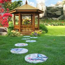 Садовый лужайка бабочка ступенчатые камни украшение для виллы