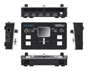 Image 5 - FEELWORLD LIVEPRO L1 Multi format Video Switcher Mixer 4 x HDMI Cable Compatible multi camera  live streaming VS Blackmagic Atem