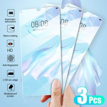 Перейти на Алиэкспресс и купить 3 шт закаленное стекло для Huawei P40 P30 10 P20 Lite Pro P Smart 2019 Защитная пленка для Honor 10i 10 lite 8X 9