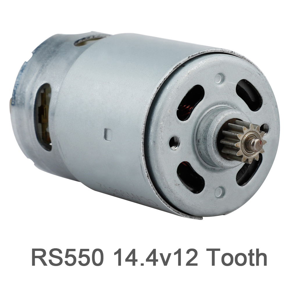 Metal 12 Teeth Electric Gear Motor Lithium Frill Motor RS550 for Bosch image