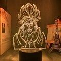 Творческий вечер лампа Аниме Драконий жемчуг Adventure для Украшения в спальню светильник сенсорный Сенсор красочные таблицы светодиодный ноч...
