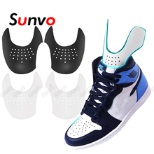 Dropshipping Shoes Shield for Sneaker Anti Crease Wrinkled Crack Protector Shoe Toe Cap Support Shoe Shields Stretcher Shaper