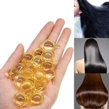 10Pcs Hair Vitamin Capsule Pro Keratin Complex Oil Smooth Silky Hair Serum Moroccan Oil Anti Hair Loss Hair Mask Repair Damaged