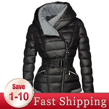 2020 New Parkas Female Women Winter Coat Thickening Cotton Winter Jacket Womens