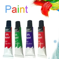 Popular Oil Paint Art Painting Watercolor Paint Hand painted DIY Nail Glass Wall Painting Fabric Painting Tool green 12 Color