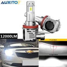 AUXITO 2X 12000LM de H4 H13 H8 H11 bombilla Led faro para Chevrolet Cruze 9004, 9005, 9006, 9007 bombillas de faro delantero de coche lámpara de 12V 12V