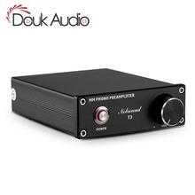 Douk audio HiFi MM Phono Stage Voorversterker RIAA Platenspeler Mini Voorversterker Draaitafel Versterker
