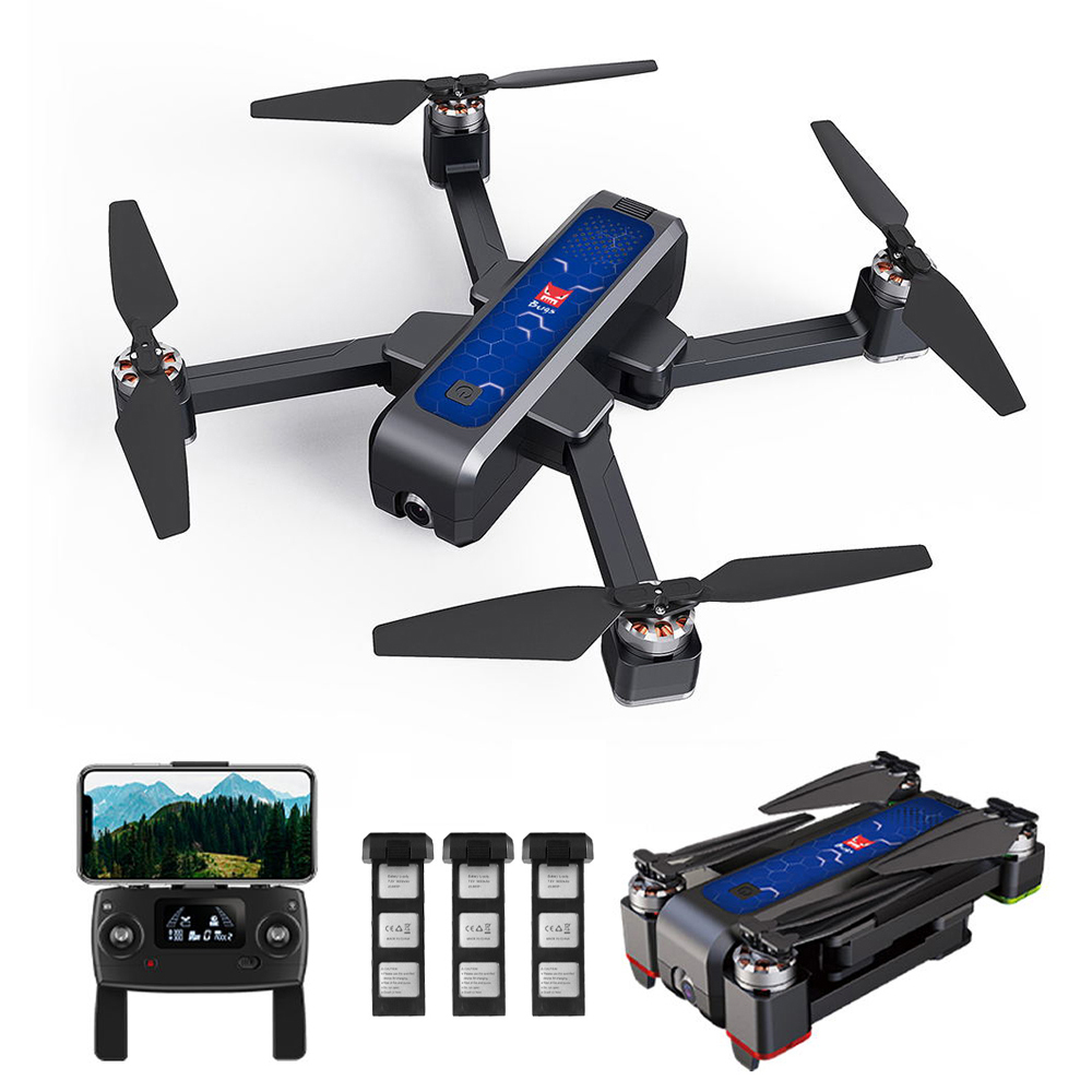 Rc-Drone Camera Optical-Flow Mjx Bugs Wifi Brushless Gps 4W Foldable Kids With 5G FPV