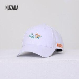 Бренд NUZADA новая Бейсболка Snapback шапки для женщин Хлопок Весна Лето Bone шапки модная вышивка маленькие цветы шляпа