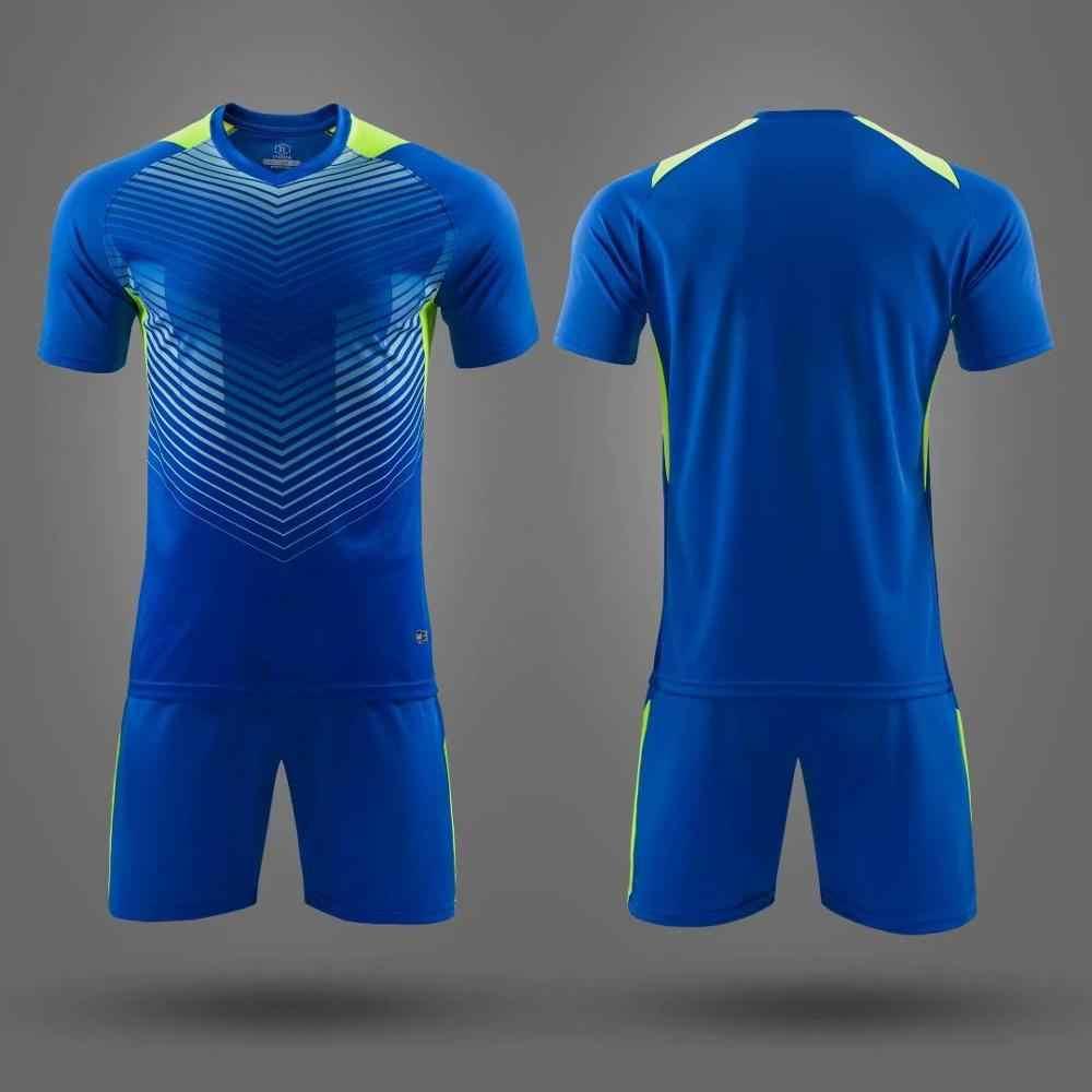 2019 Adult Kid Soccer Jersey Uniform Football T Shirt Kit Diy Any Design Color Logo Top Quality Football Shirt Maker Soccer Sets Aliexpress