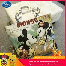 Disney Large Capacity Cartoon Mickey Minnie Mous Bear Child Mummy Bag Women Handbag Shopping Birthday Gifts for School Girl