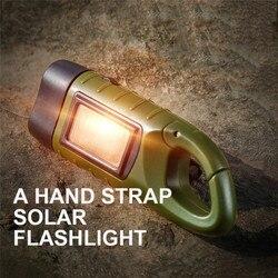 1 przenośna latarka LED latarka z dynamo na korbę ręczną latarnia na zewnątrz Camping alpinizm profesjonalne oświetlenie namiotu energii słonecznej|Zewnętrzne narzędzia|   -