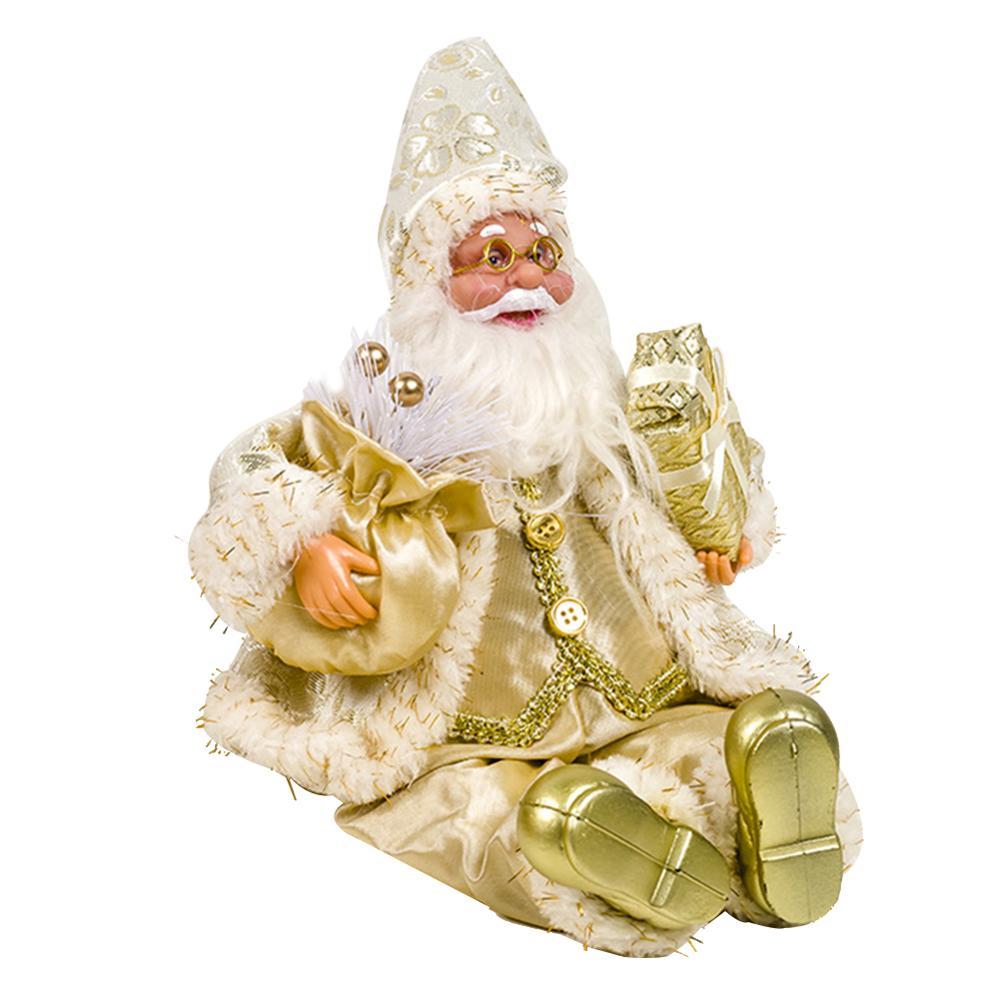 Хит, 30 стилей, рождественские украшения для дома, Рождественские куклы, елочные украшения, инновационная декорация с лосем, Сантой, снеговиком - Цвет: U 24x16cm