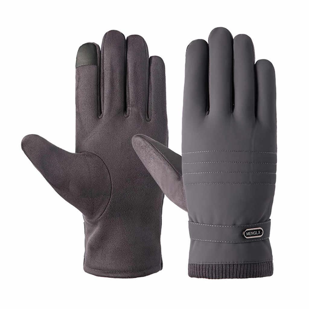 Men/'s Winter Thermal Warm Gloves Windproof Motorcycle Ski Snow Snowboard Mittens