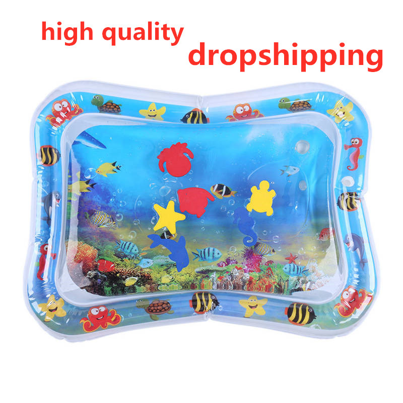 Summer Inflatable Water Mat For Babies Safety Cushion Ice Mat Early Education Toys Play For Babies