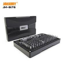 Jakemy 106 で 1 精密ドライバーセット磁気ビットセットスクリュードライバー iphone コンピュータ pc 電子修復ツールセット