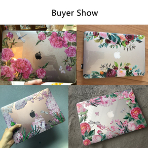 Image 5 - MTT Floral Laptop Case For Macbook Air Pro 11 12 13 15 16 Touch Bar Crystal 2020 Hard Cover for macbook air 13 a2179 a1932 a1466