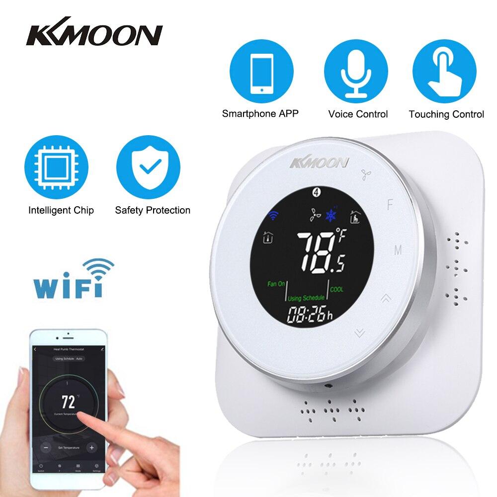 KKmoon Termostats WiFi Programmable Heating/Cooling Termostat Thermoregulator Room Temperature Controller Temperature Regulator