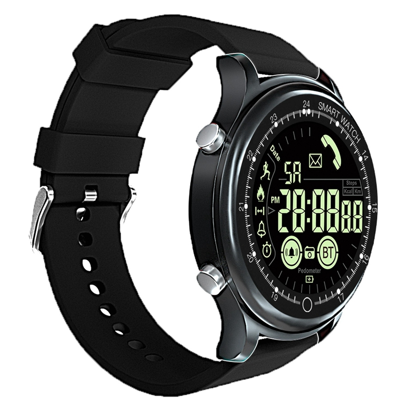 EX28 Smart Watch Phone Reminder and SMS Reminder 50 Meters Waterproof Sport Wrist Watch