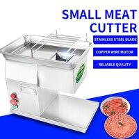 YF-90T desktop cortador de carne  250 kg/h aço inoxidável elétrico cortador de carne  cortador de carne doméstico  picador de carne