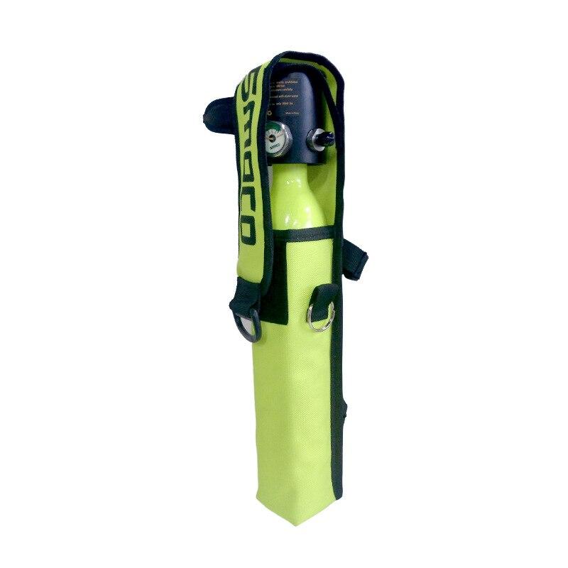 SMACO Syme Guest S300 Diving Respirator Small Oxygen Bottle Submersible Equipment Only Bag Back Shoulder Bag