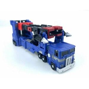 Image 5 - Magic Square ms zabawki transformacja MS B04D Ultra Magnus tryb transportera MS B04D Mini figurka zabawkowe roboty prezent